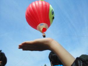 安曇野汽船の気球